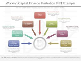 New Working Capital Finance Illustration Ppt Example