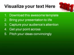 New Year01 Holidays PowerPoint Template 1010  Presentation Themes and Graphics Slide02