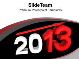 New Year 2013 Holidays PowerPoint Templates PPT Backgrounds For Slides 0113