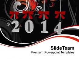 New year 2014 Business PowerPoint Templates PPT Backgrounds For Slides 1113