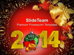 New Year 2014 Party Theme PowerPoint Templates PPT Backgrounds For Slides 1113