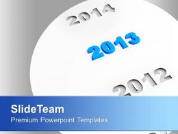 New Year Ahead Business PowerPoint Templates PPT Themes And Graphics 0113