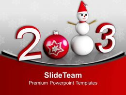 New Year And Christmas Concept Holidays PowerPoint Templates PPT Themes And Graphics