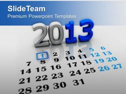New Year Calendar Holidays PowerPoint Templates PPT Themes And Graphics 0113