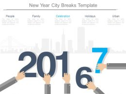 New Year City Breaks Template