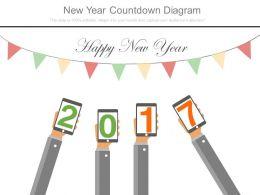 New Year Countdown Diagram