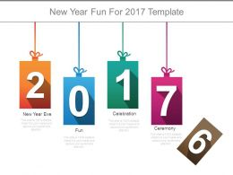 New Year Fun For 2017 Template