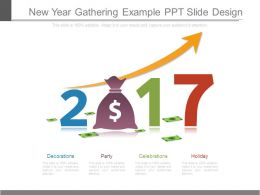 New Year Gathering Example Ppt Slide Design