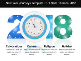 New Year Journeys Template Ppt Slide Themes 2018