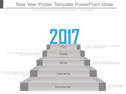 New Year Poster Template Powerpoint Ideas