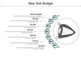 New York Budget Ppt Powerpoint Presentation Outline Design Templates Cpb
