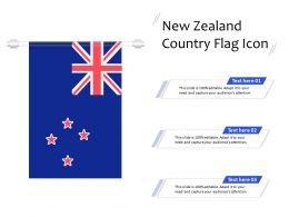 New Zealand Country Flag Icon