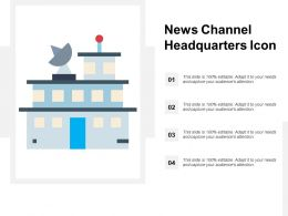 News Channel Headquarters Icon