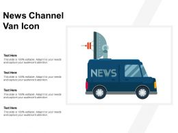News Channel Van Icon