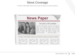 News Coverage Powerpoint Slide Graphics