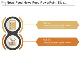 News Feed News Feed Powerpoint Slide Design Templates