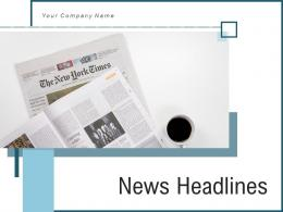 News Headlines Performance Awareness Knowledge Illustrating Instructions