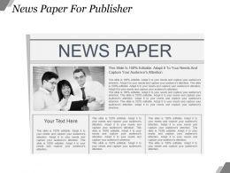 8998776 Style Variety 2 Newspaper 1 Piece Powerpoint Presentation Diagram Infographic Slide