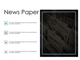 News Paper Information Knowledge Ppt Powerpoint Presentation Slides Tips