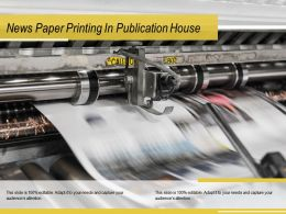 News Paper Printing In Publication House