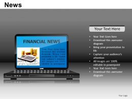 News Powerpoint Presentation Slides DB