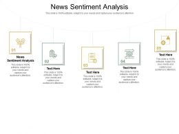 News Sentiment Analysis Ppt Powerpoint Presentation Model Diagrams Cpb