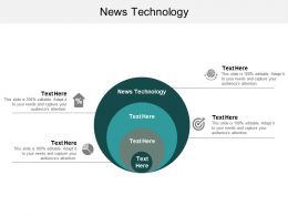 News Technology Ppt Powerpoint Presentation Show Gallery Cpb