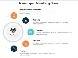 Newspaper Advertising Sales Ppt Powerpoint Presentation Ideas Model Cpb