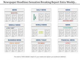 48095217 Style Variety 2 Newspaper 1 Piece Powerpoint Presentation Diagram Infographic Slide