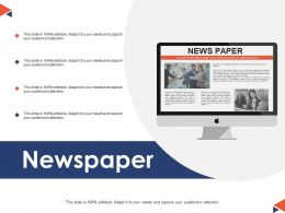 Newspaper Knowledge Ppt Powerpoint Presentation File Model