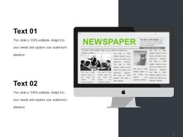 Newspaper Powerpoint Slide Designs