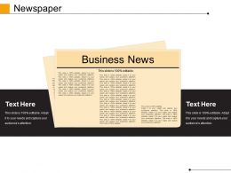 Newspaper Powerpoint Slide Presentation Guidelines