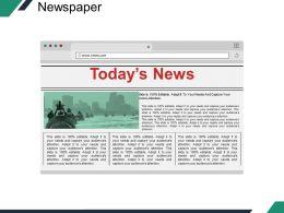 Newspaper Ppt Sample Presentations Template 2