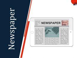 Newspaper Ppt Slides Graphics