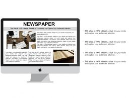 Newspaper Ppt Styles Example Topics