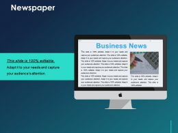 Newspaper Ppt Templates