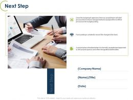 Next Step Budget Process Ppt Powerpoint Presentation Ideas Graphics