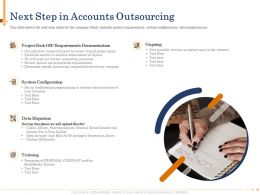 Next Step In Accounts Outsourcing Agenda Powerpoint Presentation Tips