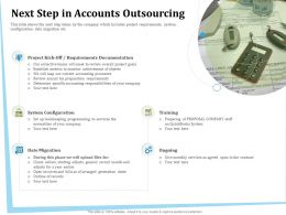 Next Step In Accounts Outsourcing Quickbooks Ppt Powerpoint Presentation File Smartart