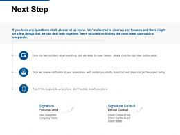 Next Step Mobile Ppt Powerpoint Presentation Model Graphics Download