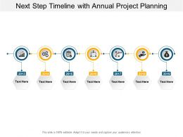 Next Step Timeline With Annual Project Planning