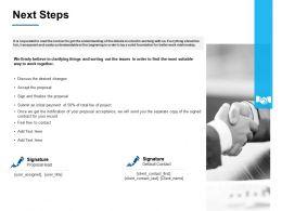 Next Steps A381 Ppt Powerpoint Presentation Inspiration Styles