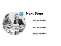 Next Steps Communication Ppt Powerpoint Presentation Pictures