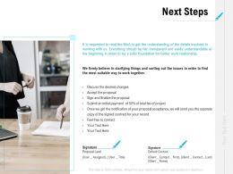 Next Steps Marketing L1098 Ppt Powerpoint Presentation File Backgrounds