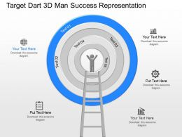 nf_target_dart_3d_man_success_representation_powerpoint_template_Slide01