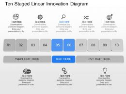ng_ten_staged_linear_innovation_diagram_powerpoint_template_Slide01