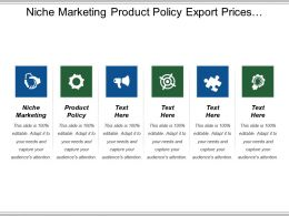 Niche Marketing Product Policy Export Prices Marketing Strategy