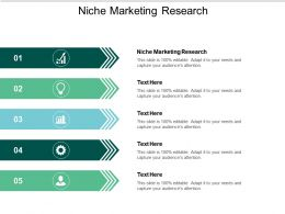 Niche Marketing Research Ppt Powerpoint Presentation Styles Tips Cpb