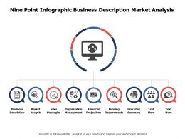 Nine Point Infographic Business Description Market Analysis