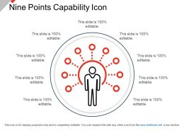 Nine Points Capability Icon Presentation Deck